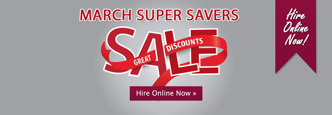 March Super Savers