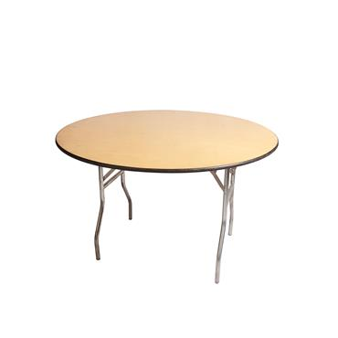 round table 4 ft select hire cater hire party hire