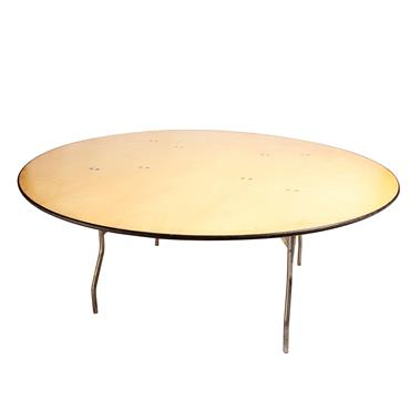 round table 6 ft select hire cater hire party hire