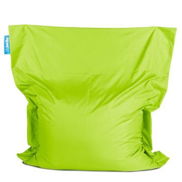 Bean bag lime green big bertha xxl 160cm l x 140cm d for Funky canape trays