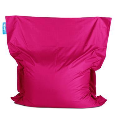 Bean bag pink big bertha xxl 160cm l x 140cm d for Funky canape trays