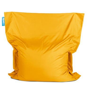 Bean bag yellow big bertha xxl 160cm l x 140cm d for Funky canape trays